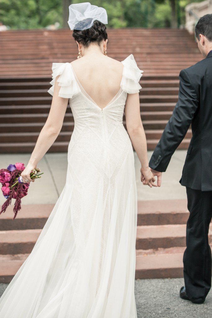 Kim's wedding gown on Hurray Kimmay blog