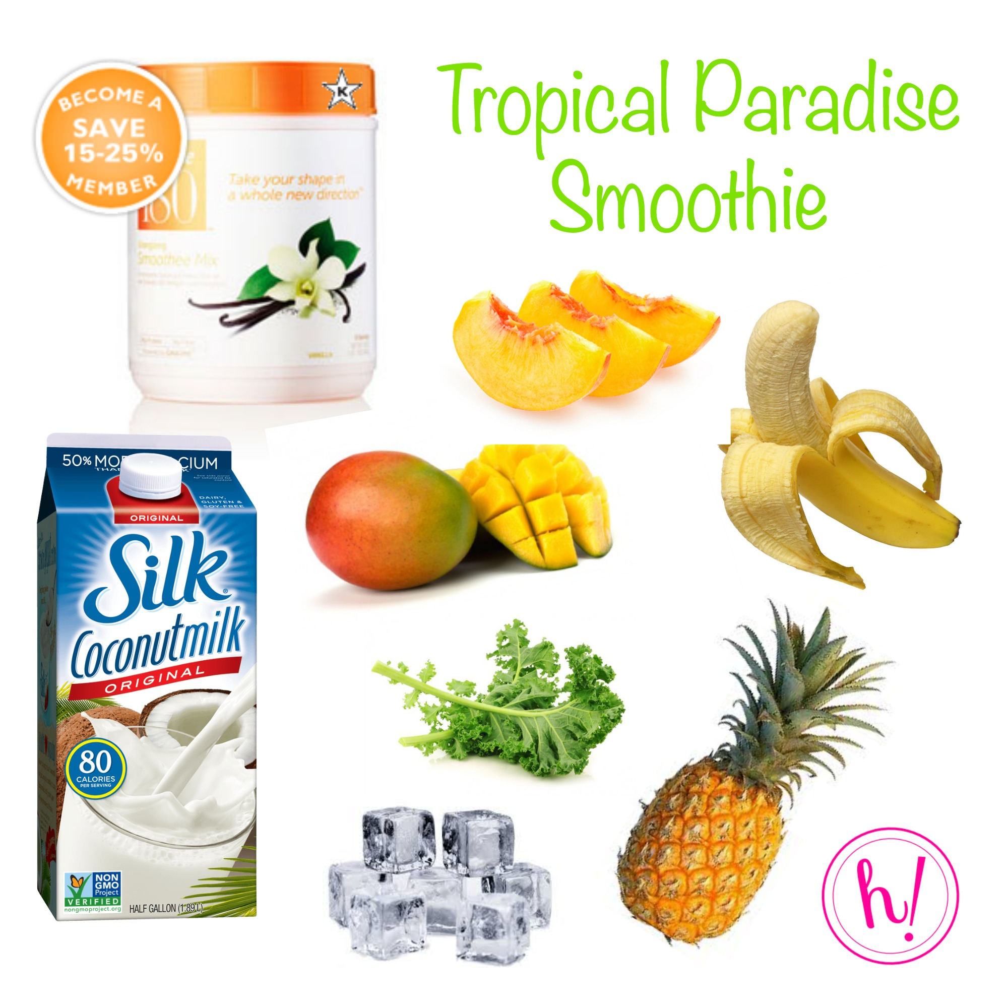 Tropical Paradise smoothie from Hurray Kimmay
