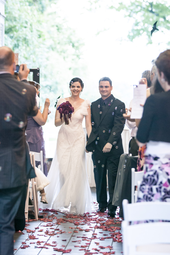 What to wear under your sheer wedding gown on Hurray Kimmay (Kim and Trent at the Bronx Zoo)