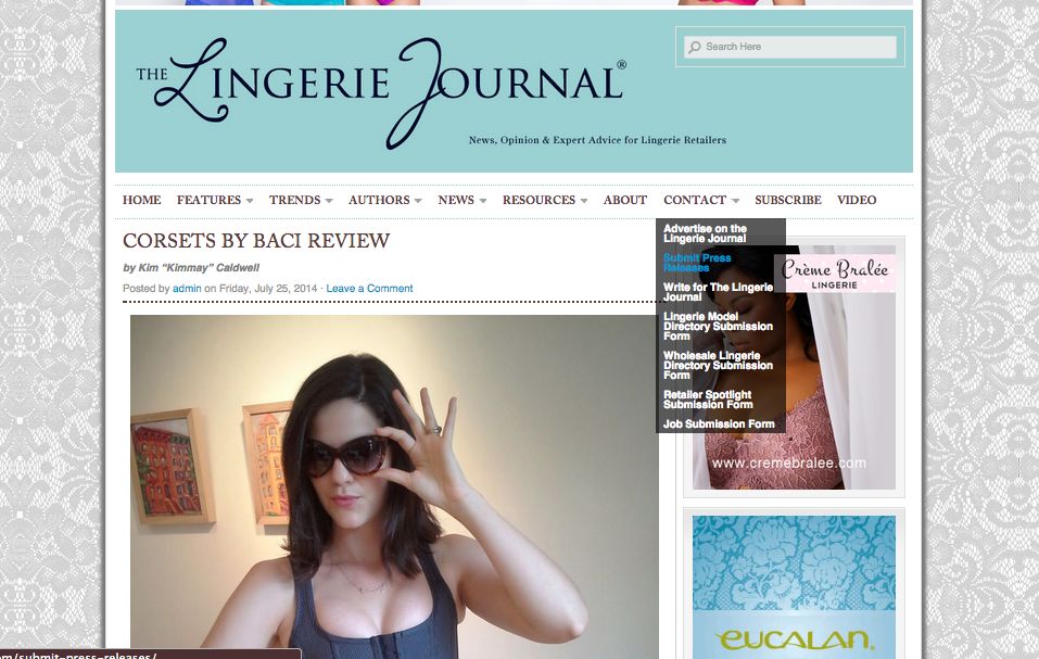 Submit to The Lingerie Journal
