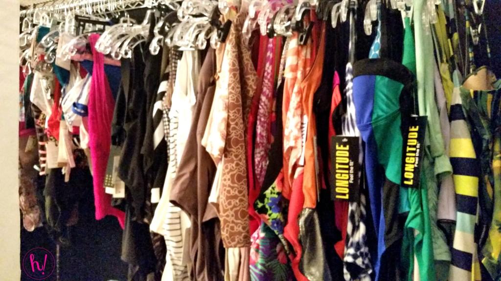 O Mag racks of bathing suits