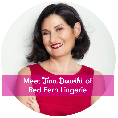 Meet Tina Doueihi of Red Fern Lingerie Hurray Kimmay