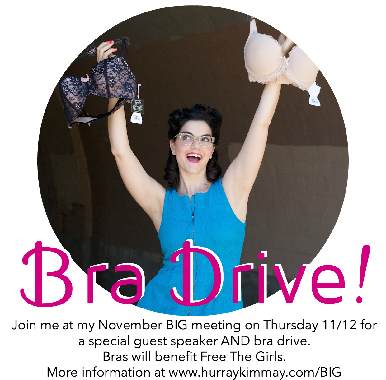 Bra Drive to Benefit Free the Girls