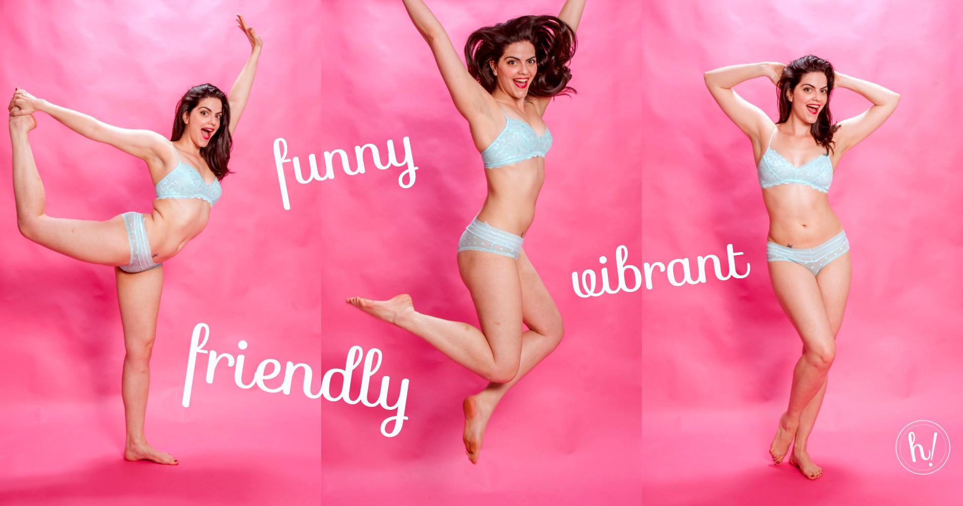 funny friendly vibrant colors HK Blog