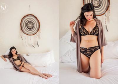 Kimmay wearing Ana Ono Intimates Rachel Set