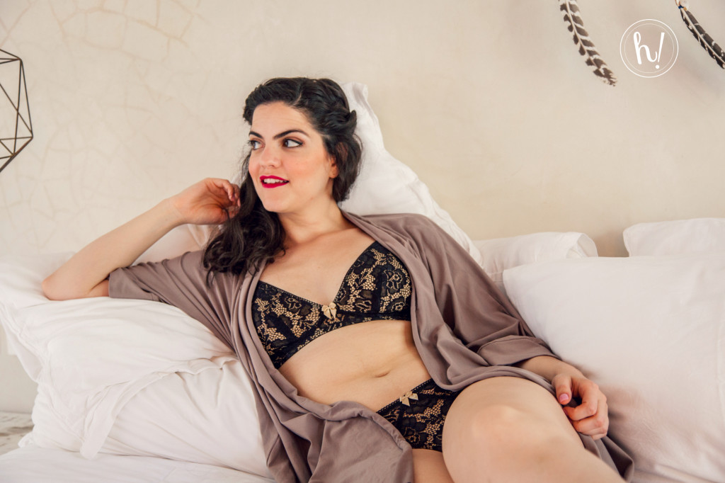 Kimmay wearing Ana Ono Rachel Bra and Panty-How to (Really) Relax and Enjoy a Vacation Blog by Kimmay