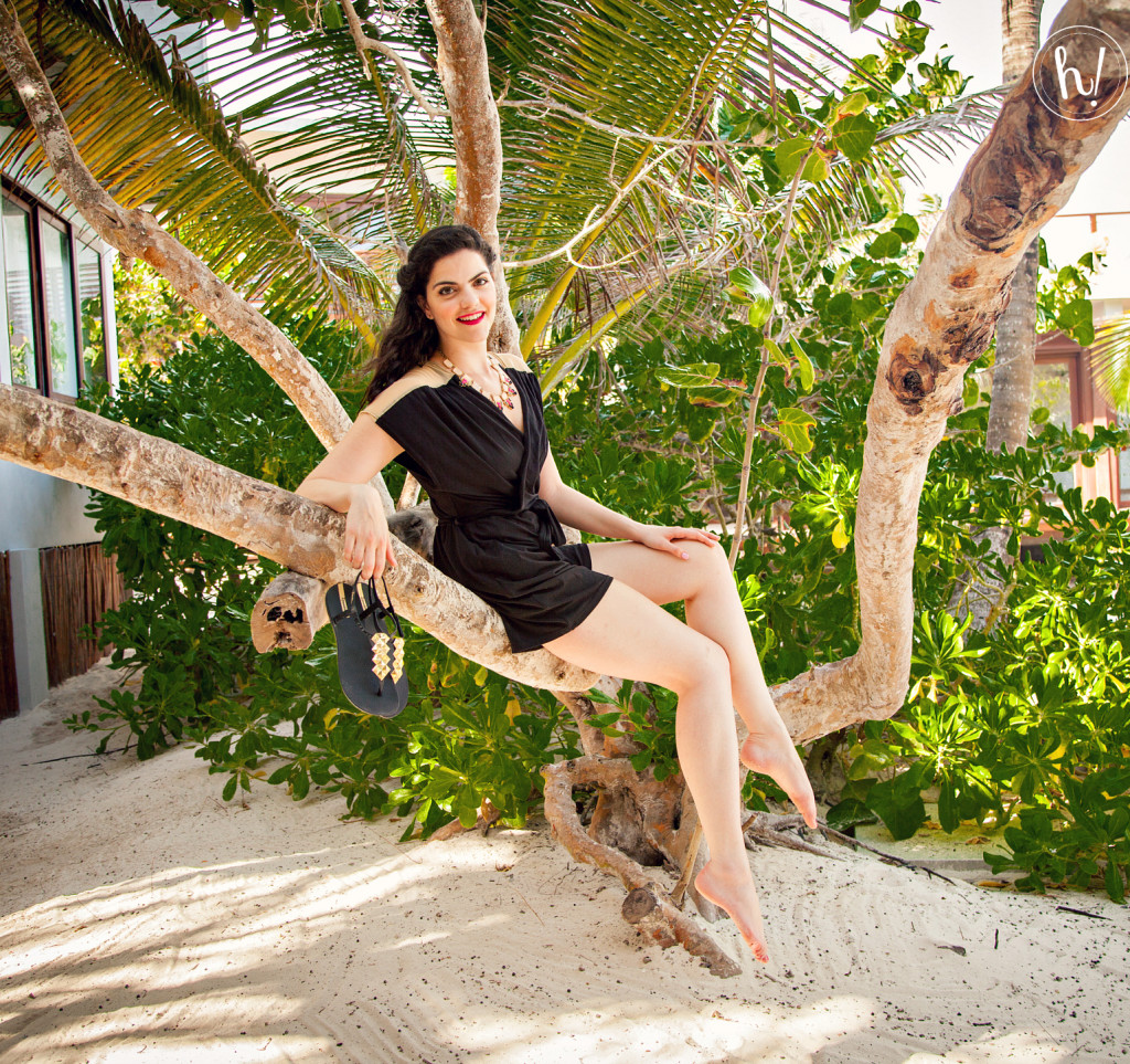 Kimmay wearing Ana Ono romper on the Hurray Vacay-How to (Really) Relax and Enjoy a Vacation by Kimmay