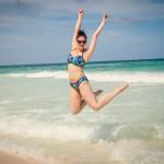 Kimmay wearing a Cleo by Panache Bikini on the Hurray Vacay-Hurray Kimmay Blog