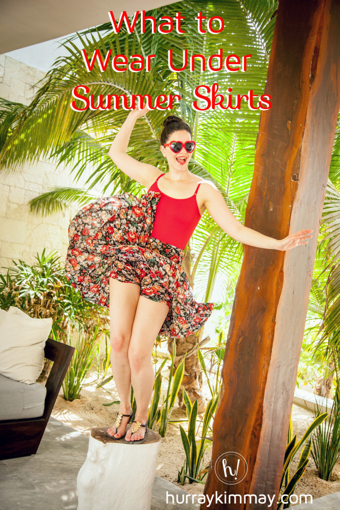 What to wear under summer skirts hurray kimmay blog