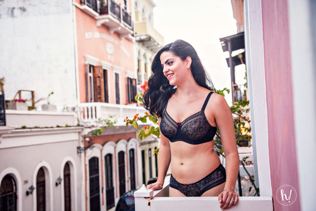 Kimmay in Anita Fleur bra and panty in Puerto Rico, Hurray Kimmay blog