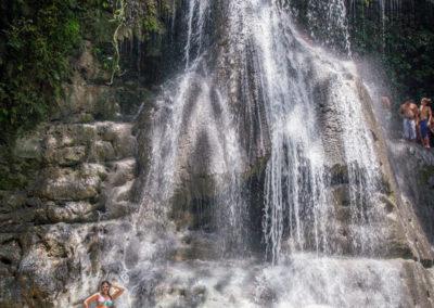 Kimmay in waterfall 1