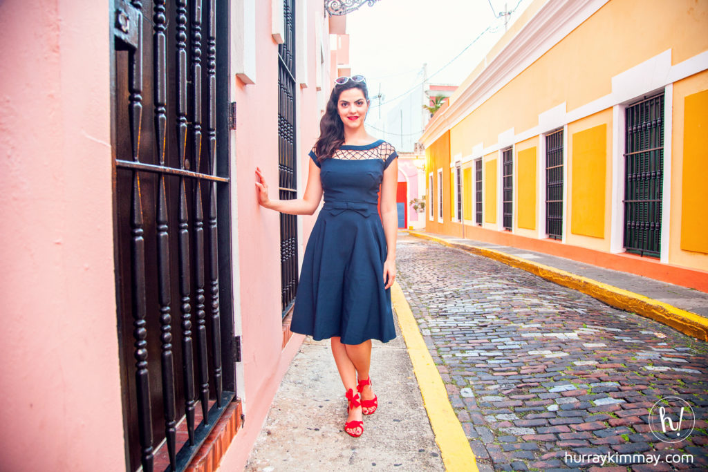 Kimmay in Puerto Rico. Hispanic Heritage Month Blog Post