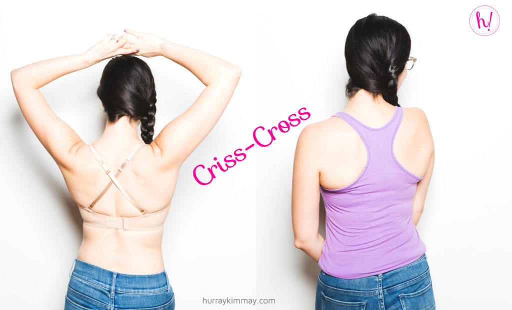 Wearing a strapless bra as criss-cross, Hurray Kimmay Blog