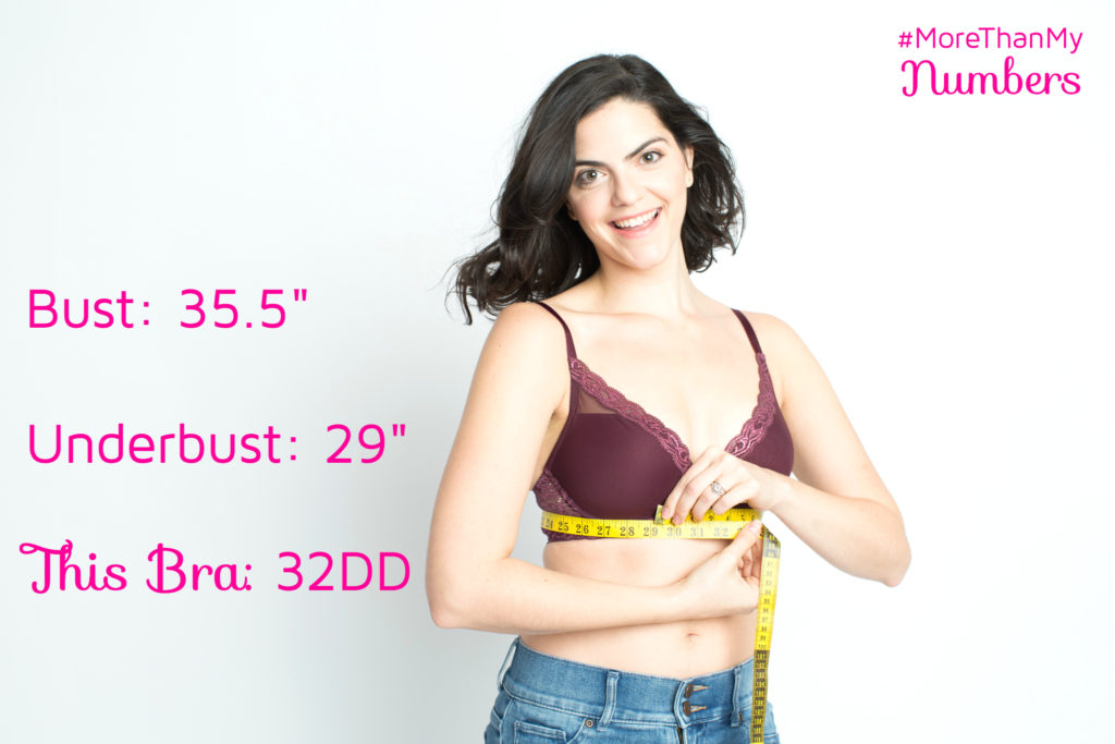 Kimmay bra measurements