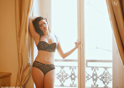 Kimmay wearing Passionata by Chantelle in Paris Date Yourself HK blog