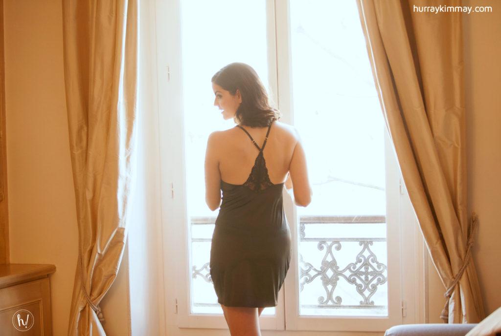 Kimmay wearing Gossard slip -Date Yourself Hurray Kimmay blog