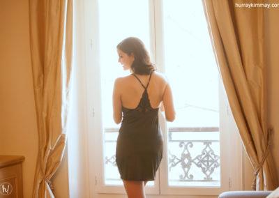 Kimmay wearing gossard slip Date Yourself hk blog
