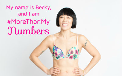 Becky says I am More Than My Numbers