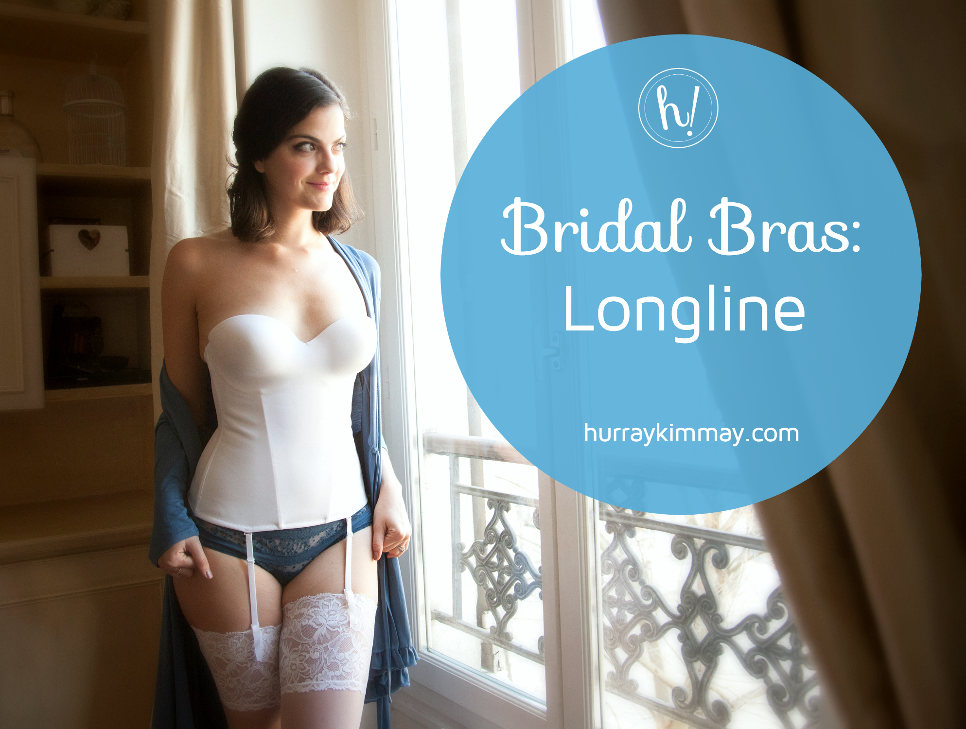 Kimmay explains Bridal Bras: Longline style on the Hurray Kimmay Blog