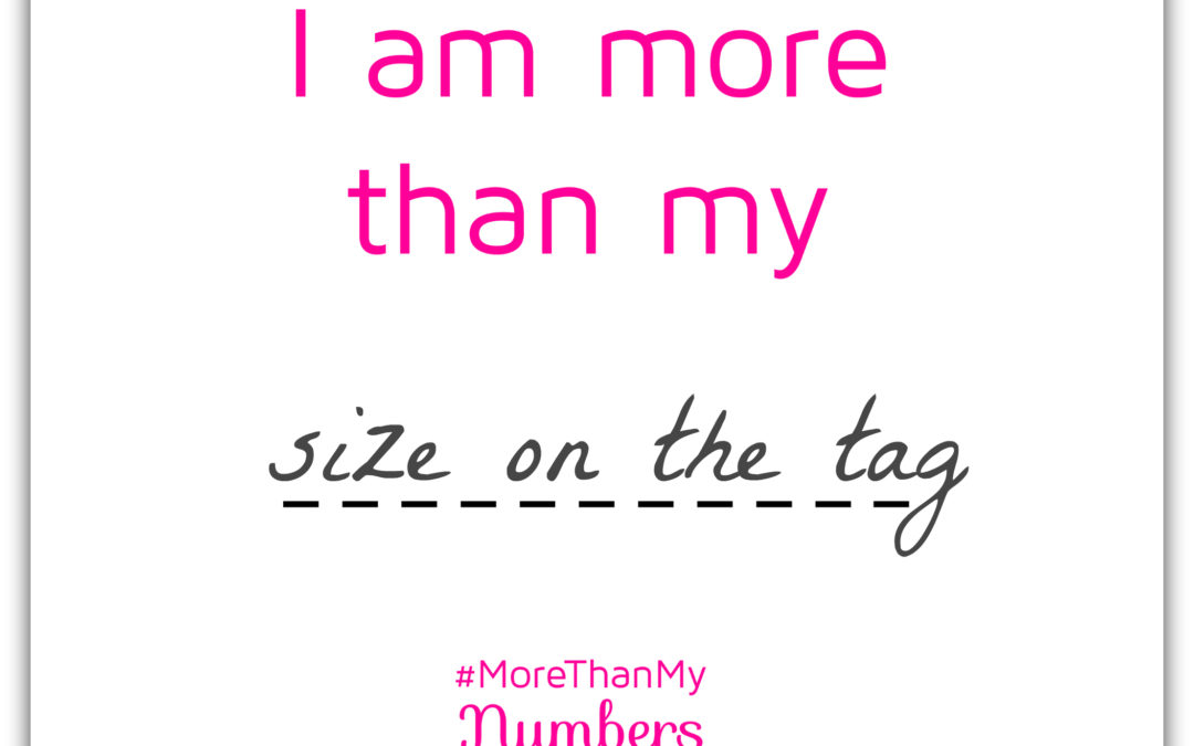 I am More Than My Size On the Tag