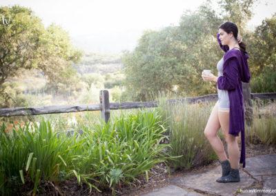 Kimmay blush robe and romper HK Blog