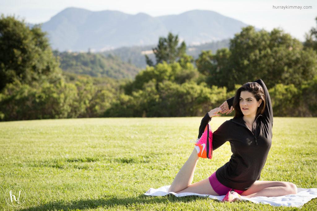 Kimmay exercising in Ridge Merino in Hurray Kimmay blog