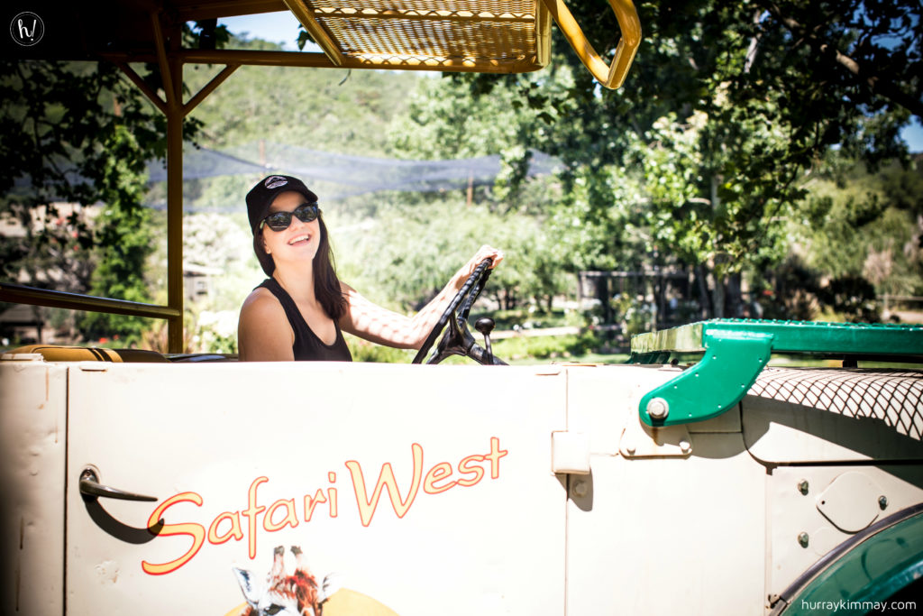 Kimmay loved her vacay at Safari West, read more on the blog!