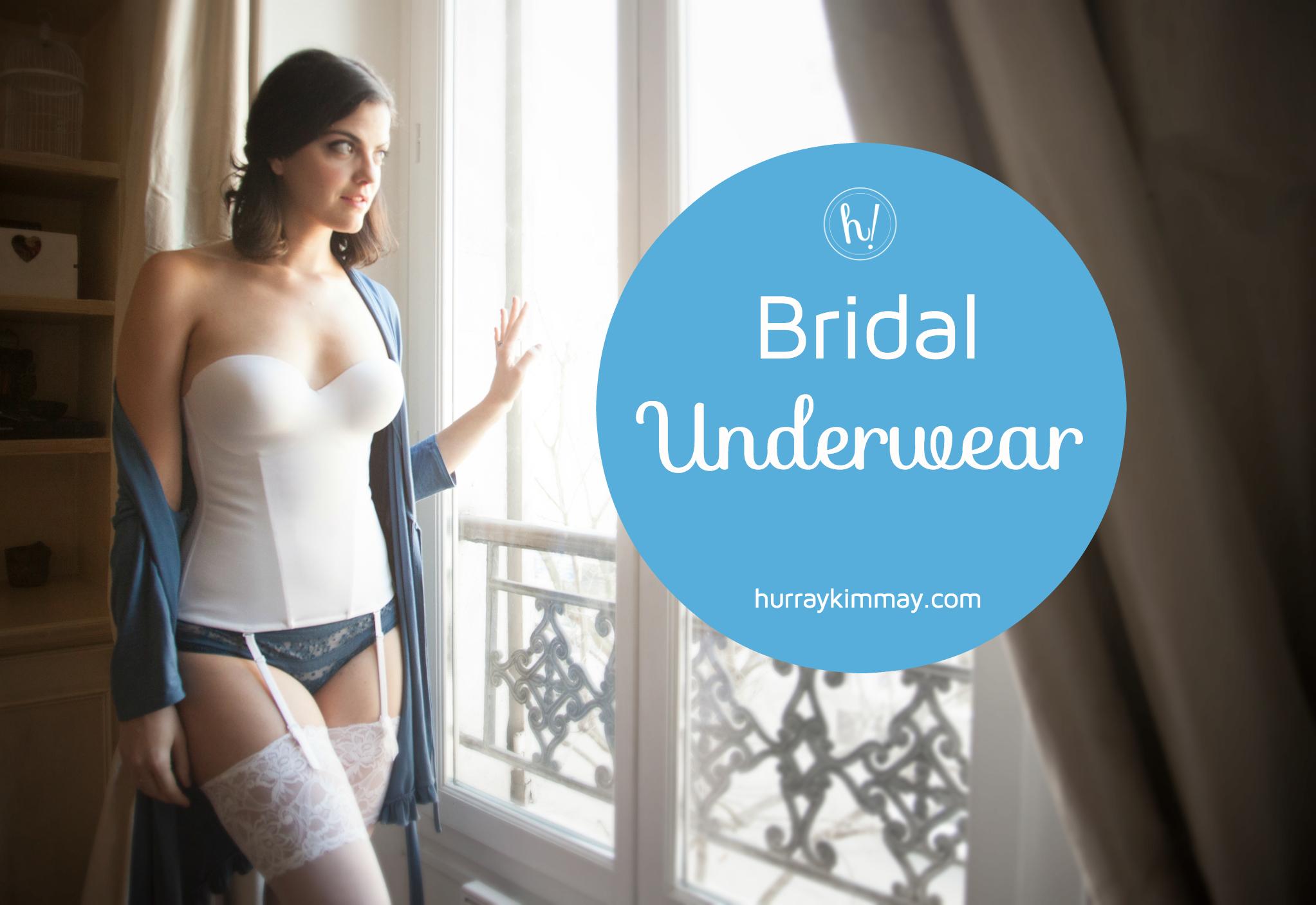 8c0baa8c811 Bridal Underwear - Hurray Kimmay