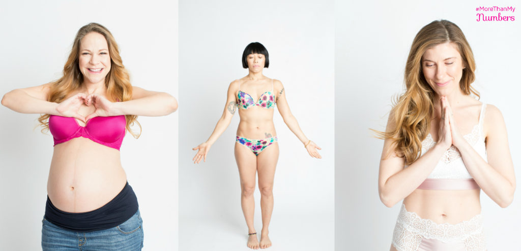 Ferna, Becky and Brooke in More Than My Numbers Campaign