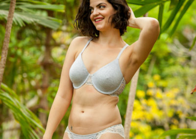 Kimmay Silver Lining HK Blog post comfort chic bra and hat