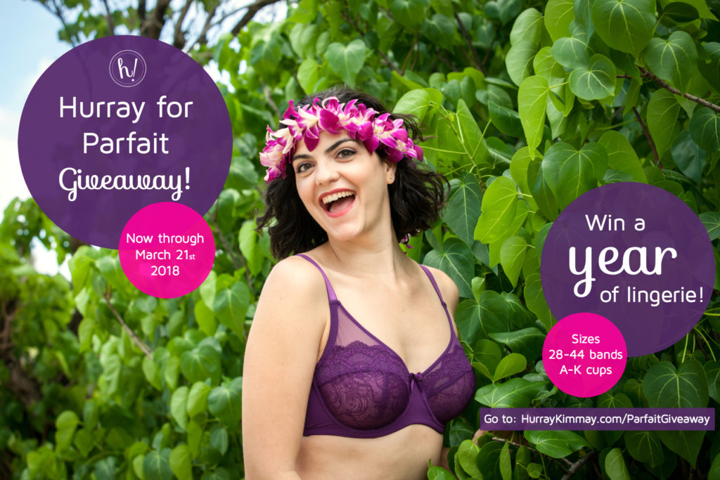 Hurray for Parfait Giveaway! Enter for a year of lingerie!