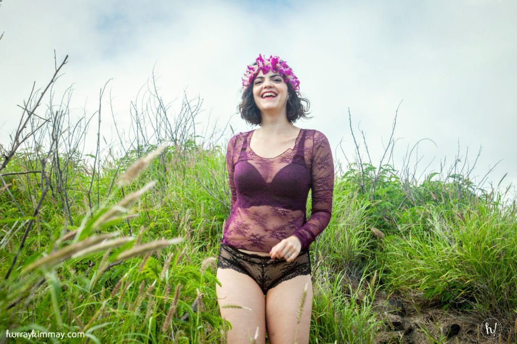 Kimmay wears Parfait bra and panty in Hurry to Hurray blog