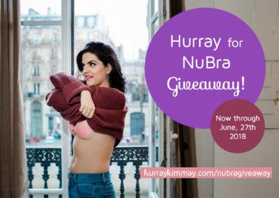 Hurray for NuBra giveaway image hurray kimmay