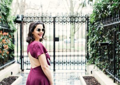 hurray kimmay nubra burgundy dress 1