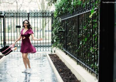hurray kimmay nubra burgundy dress twirl