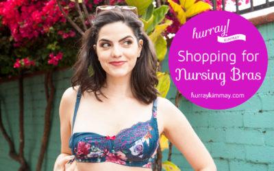 Shopping for Nursing Bras
