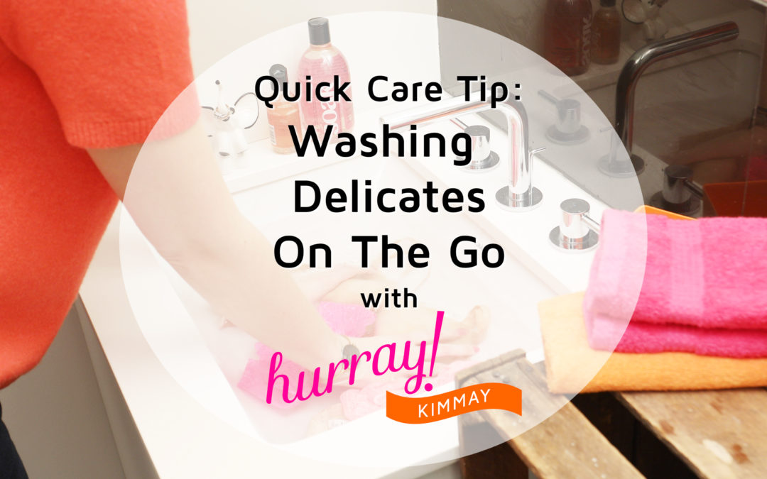 Washing Delicates On The Go