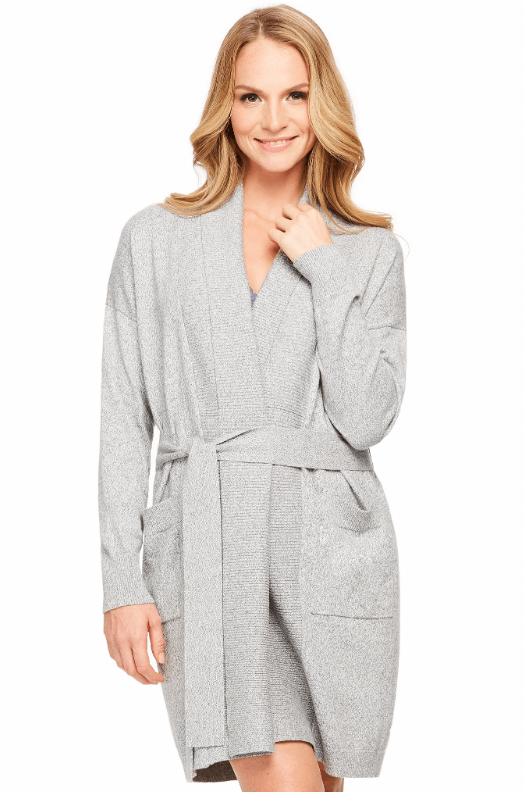 This modern cardigan from Fleur't is an amazing robe to work from home or walk around Paris in! Kimmay shares more favorite robes in this Hurray Kimmay blog.