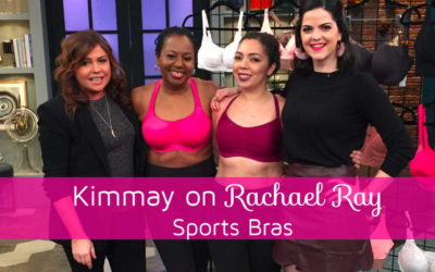 Kimmay on Rachael Ray: Sports Bras