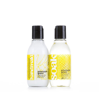 Soak Twosome Travel Size Pineapple Groove